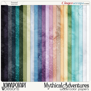 Mythical Adventures {Watercolor Papers}