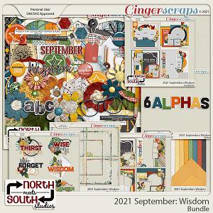 2021 September: Wisdom Bundle by North Meets South Studios
