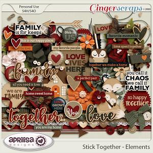 Stick Together - Elements by Aprilisa Designs