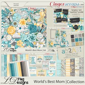 World's Best Mom: The Collection by LDragDesigns