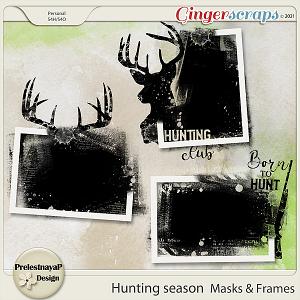 Hunting season Masks & Frames