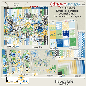 Happy Life Collection by Lindsay Jane