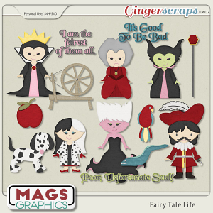 Fairy Tale Life VILLAINS Pack by MagsGraphics