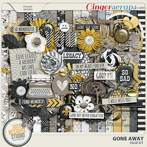 Gone Away Page Kit by JB Studio