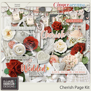Cherish Page Kit by Aimee Harrison