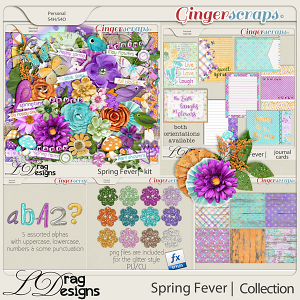 Spring Fever: The Collection by LDragDesigns