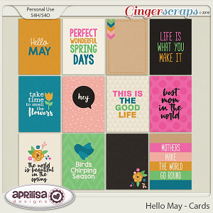Hello May - Cards