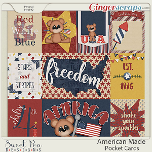 American Made Pocket Cards