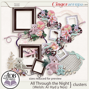 All Through The Night Clusters by ADB Designs