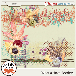 What A Hoot Border Blendables by ADB Designs