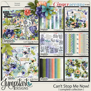 Can't Stop Me Now {Complete Collection} by Jumpstart Designs