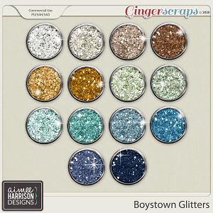 Boystown Glitters by Aimee Harrison