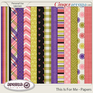 This Is For Me - Papers by Aprilisa Designs
