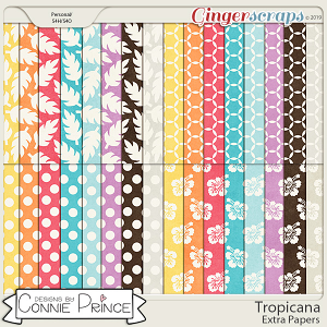 Tropicana - Extra Papers by Connie Prince