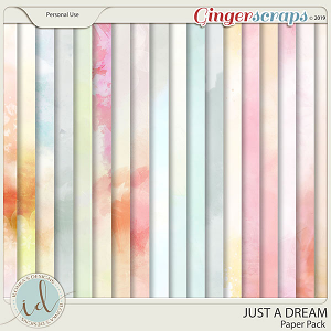 Just A Dream Paper Pack by Ilonka's Designs