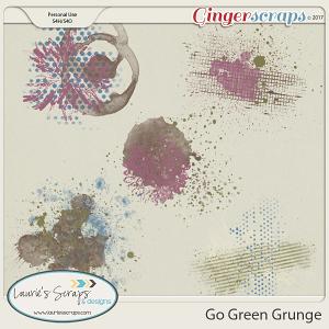 Go Green - Grunge
