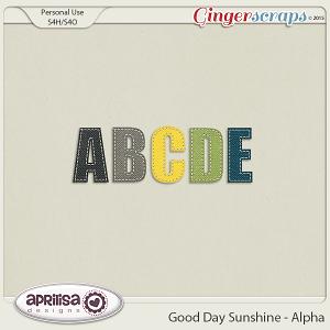 Good Day Sunshine - Alpha by Aprilisa Designs