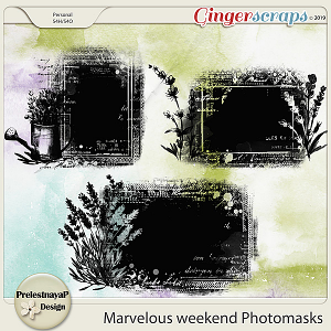 Marvelous weekend Photomasks