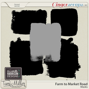 Farm to Market Road Masks by Aimee Harrison and Tami Miller Designs