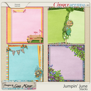Jumpin' June Stacks from Designs by Lisa Minor