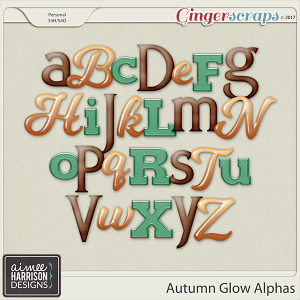 Autumn Glow Alpha Sets by Aimee Harrison