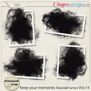 Keep your memories Masks&Frames Vol.14