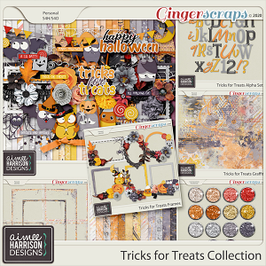 Tricks for Treats Collection by Aimee Harrison