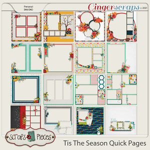 Tis The Season - Quick Pages - Scraps N Pieces