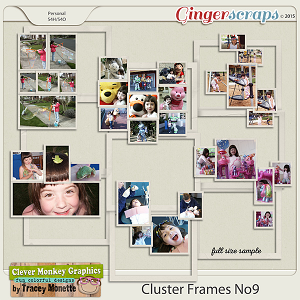 Cluster Frames No9 by Clever Monkey Graphics