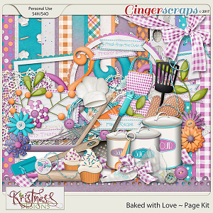 Baked with Love Page Kit