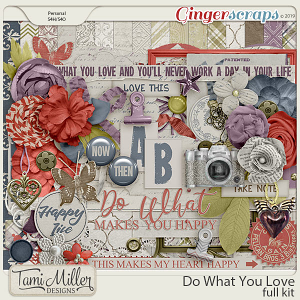 Do What You Love Kit by Tami Miller Designs