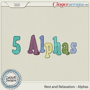 Rest and Relaxation - Alphas