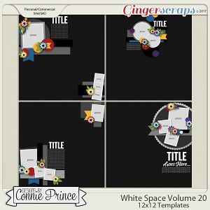 White Space Volume 20 - 12x12 Temps (CU Ok)