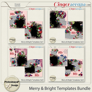 Merry & Bright Templates Bundle