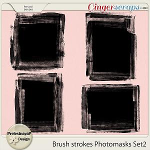 Brush strokes Photomasks Set2