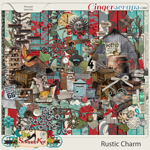 Rustic Charm by The Scrappy Kat