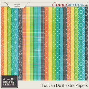 Toucan Do It Extra Papers by Aimee Harrison
