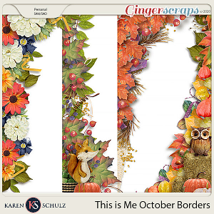 This is Me October Borders by Karen Schulz