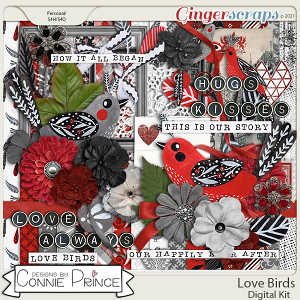 Love Birds - Kit by Connie Prince