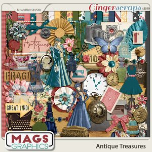 Antique Treasures KIT by MagsGraphics