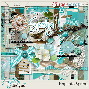 Hop into Spring by Angelle Designs