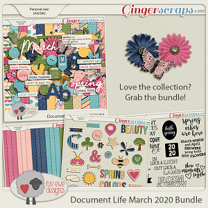Document Life March 2020 Bundle by Luv Ewe Designs
