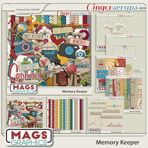Memory Keeper BUNDLE by MagsGraphics