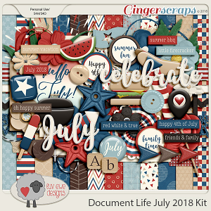 Document Life July 2018 Kit by Luv Ewe Designs