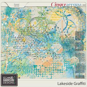 Lakeside Graffiti by Aimee Harrison