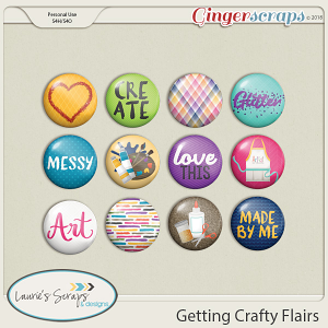 Getting Crafty Flairs