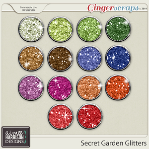 Secret Garden Glitters by Aimee Harrison