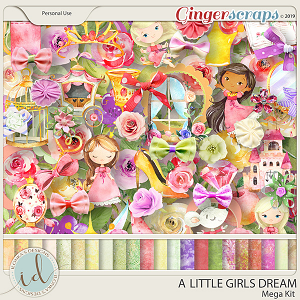 A Little Girls Dream Mega Kit by Ilonka's Designs