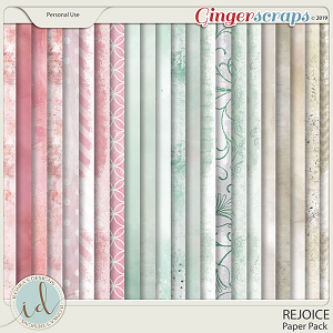 Rejoice Paper Pack by Ilonka's Designs