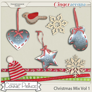 Commercial Use Christmas Mix Vol 1 - by Connie Prince.